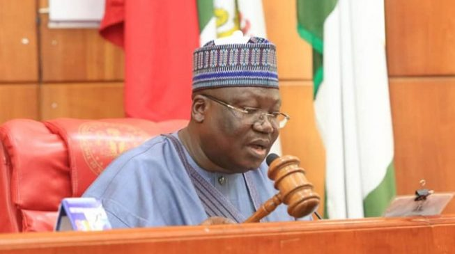 Senate president Ahmad Lawan - Senate President Lawan Reacts To Attack On Ekweremadu