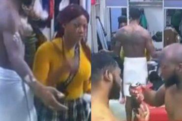 BBNaija: Tacha Rains Insults On Mike, Omashola For Getting Drunk