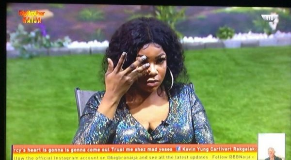 Tacha sad abou being on pssible eviction