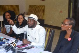Timi and Busola Dakolo hold press conference