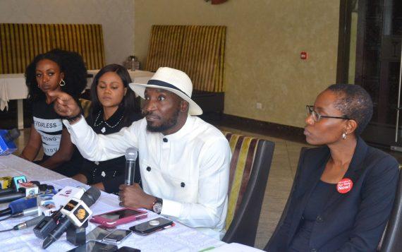 Timi and Busola Dakolo hold press conference