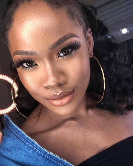 bbnaija cee c is all shades of gorgeous in new makeup photos - #BBNaija Cee-C Shows Off Her Curves In New Pictures