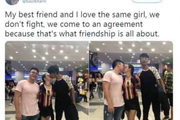 Two Male Best Friends Share Same Girlfriend; Claim That Is What Friendship Is All About