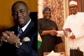 Fani Kayode, Dele Momodu and President Buhari