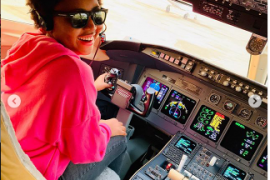 Photos: Regina Daniels Celebrates Husband As He Acquires Private Jet