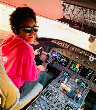 d - Photos: Regina Daniels Celebrates Husband As He Acquires Private Jet
