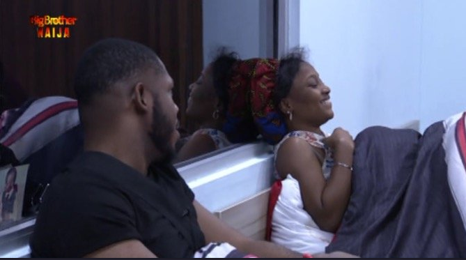 frpdd and eather 1 - BBNaija: Nigerians React As Frodd Attempts To Forcefully Have Sex With Esther (Video)
