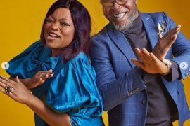 Funke Akindele and JJC Skillz