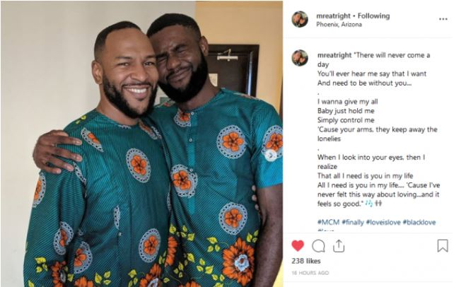 Nigerian lawyer, Richard Ogubuike Receives A Love Poem From His Gay Lover
