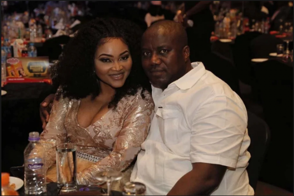 Estrange Husband Lanre Gentry claims Mercy Aigbe is back in his house