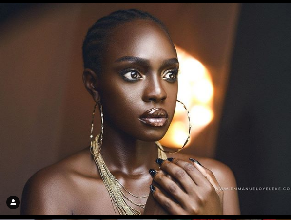 l 7 - BROWN SKIN GIRL: 'Beverly Osu Wows In New Photos