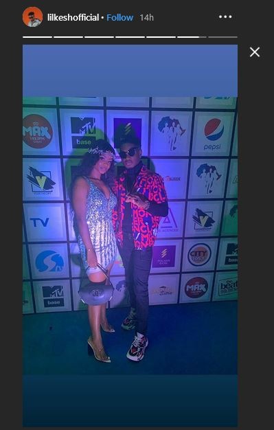 lil kesh 2 - Lil Kesh Caught Kissing Iyabo Ojo's Daughter, Priscilla (Video)
