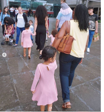 [Photos]: Nadia Buari Shares Rare Photos Of Her Family