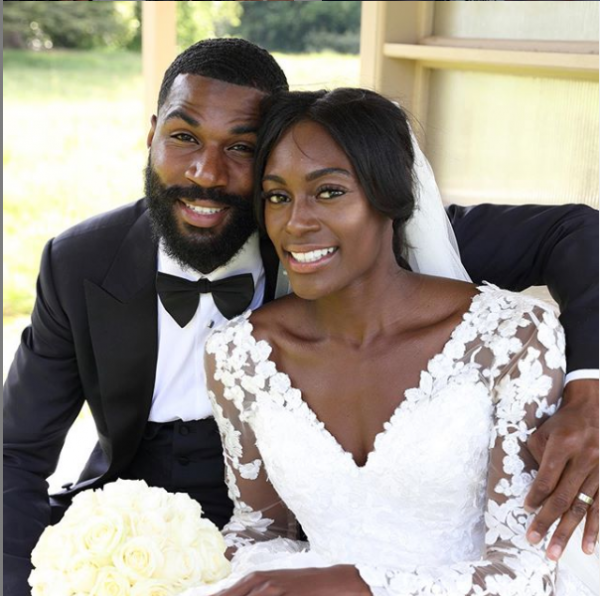 mike and wife 600x596 - #BBNaija 2019: Mike's Wife Reveals How She Gets Close To Her Husband