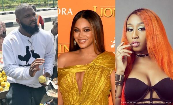 Oyemykke, Beyonce and Victoria Kimani
