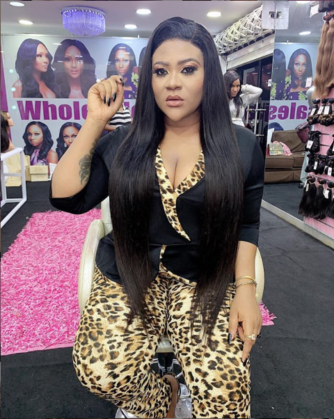 nk - Curvy Actress, Nkechi Blessing Backs Controversial Tacha In BBNaija House