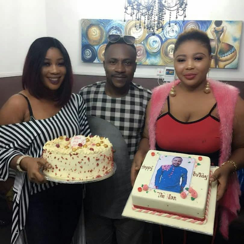 Segun Ogungbe and his two wives