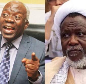 Femi Falana and Shiite leader, Ibraheem El-Zakzaky