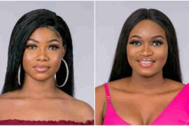 [WATCH VIDEO]: #BBNaija 2019: Housemates, Tacha And Thelma Fight Over Food