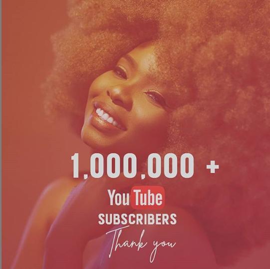 Yemi Alade hits 1 million followers