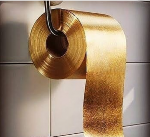 world most expensive toilet roll