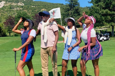 Femi Otedola, Daughters Go On Vacation In Mexico (Photos)