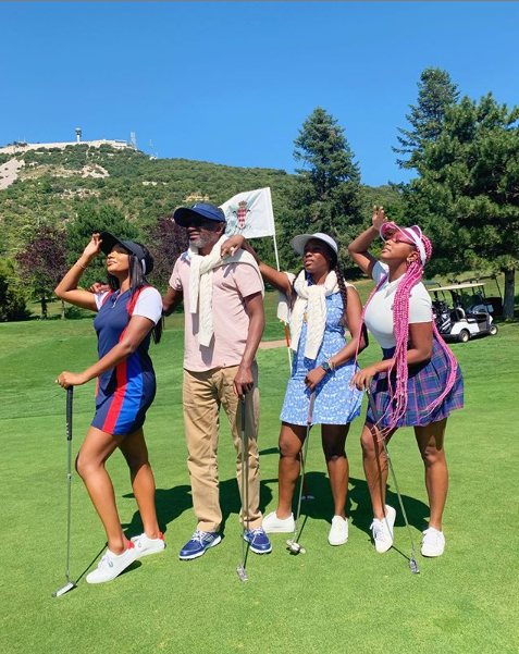 vacation 1 - Femi Otedola And Daughters Go On Vacation (photos)