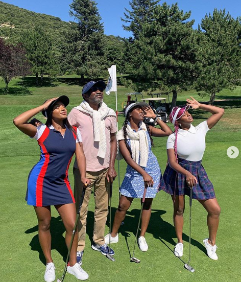 vaction1 - Femi Otedola And Daughters Go On Vacation (photos)