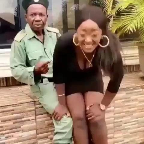Chiwetala Agu and an actress