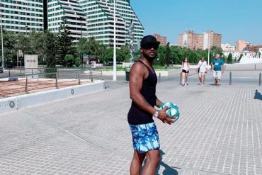 Peter Okoye Unveils The Ball For New LaLiga Season