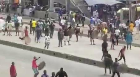 Yoruba-Hausa Fight At Oke-Ado