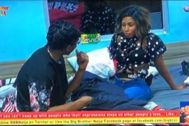"#BBNaija: ""I Will Handle You Till You Start Washing My Pants"" – Mercy Tells Ike"