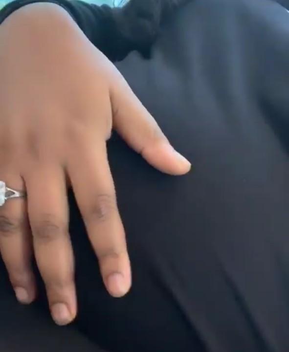 Nollywood actress, Ruth Kadiri's baby bump