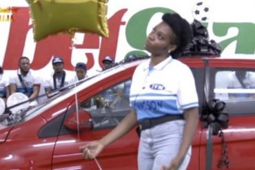 BBNaija: Khafi Wins N5M Car From Innoson Motors, Despite Several 'Knacks'
