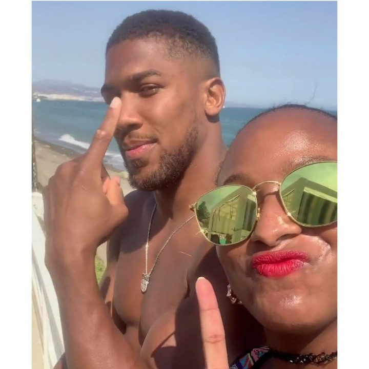 """10101848 photogrid1566738733411 jpeg09b8a3ec9eae1ba30b9a0590989dee98 1 - """"Allow Him To Focus""""— Reactions As DJ Cuppy Hangs Out With Joshua In Spain"""