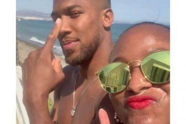 Anthony Joshua Gifts DJ Cuppy Diamond Chain; Sparks Dating Rumour