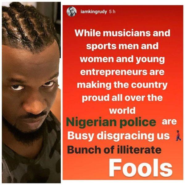 Paul Okoye post
