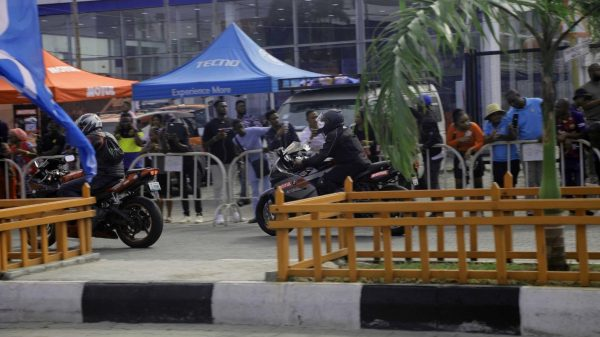11 600x337 - The Streets Light Up As TECNO Sponsors The 2019 BMW Autofest