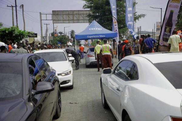 13 600x400 - The Streets Light Up As TECNO Sponsors The 2019 BMW Autofest