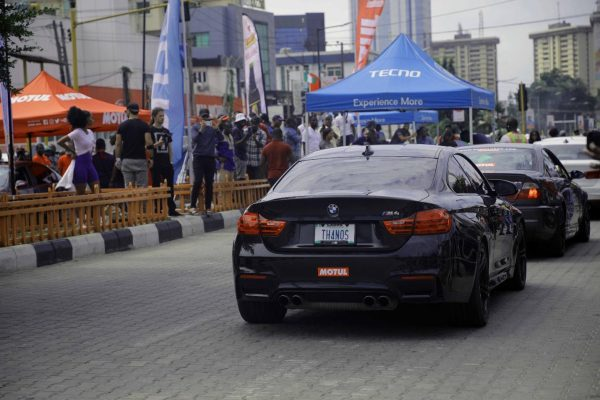 15 600x400 - The Streets Light Up As TECNO Sponsors The 2019 BMW Autofest