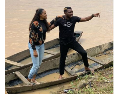 [Photos]: Timi And Busola Dakolo All Loved Up In New Photos