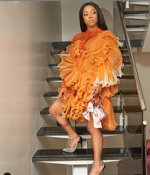 Toke Makinwa Steps Out In Style