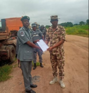 38 285x300 - Army Intercepts Strange Military Equipment In Adamawa