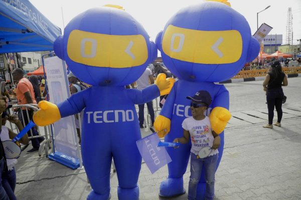 4 2 600x400 - The Streets Light Up As TECNO Sponsors The 2019 BMW Autofest
