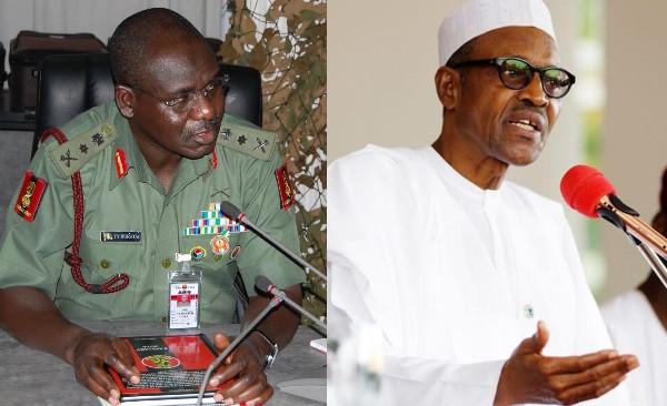 'Nigerian Soldiers Must Be Loyal To President Buhari' - Burutai