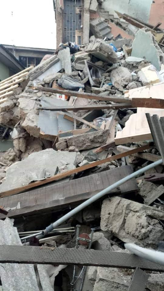 5d42ae97c11fb - [Pictures] Another Building Collapses In Lagos