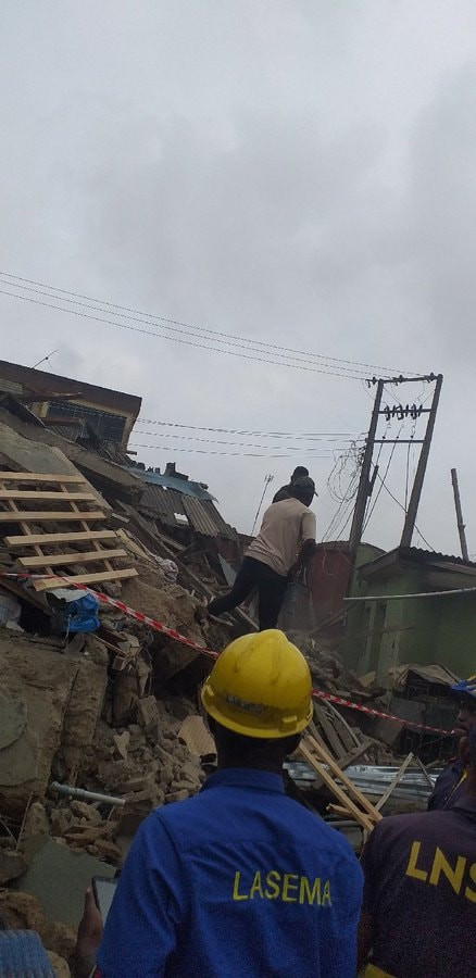 5d42aefb0d3da - [Pictures] Another Building Collapses In Lagos