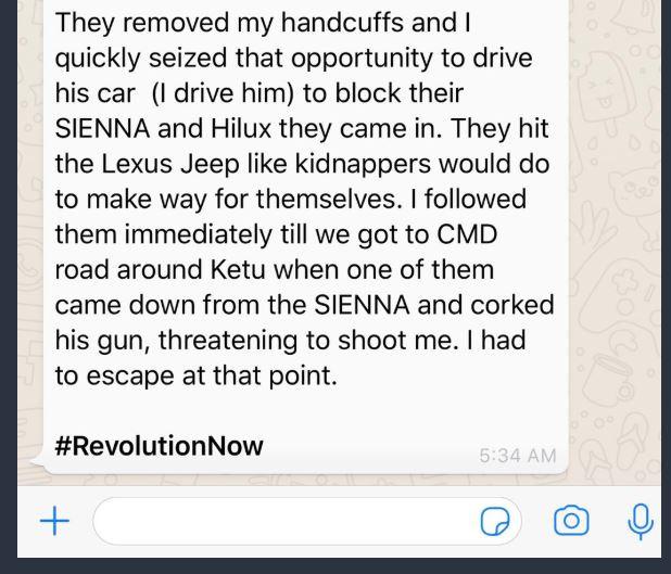 Deji Adeyanju Shares 'Eye-Witness' Report Of Omoyele Sowore's Arrest By DSS This Morning