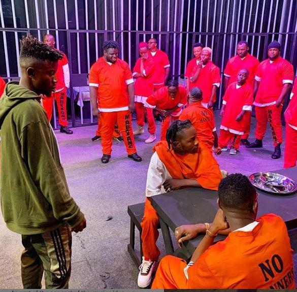 Naira Marley and his crew