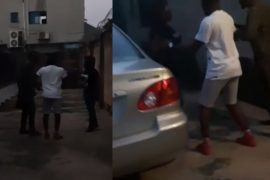 [Video]: Bitter Man Storms Ex-Wife's House To Collect A Car He Bought Her For Her Birthday